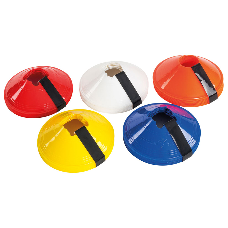 Precision Coloured Sports Fitness Markers (Set of 10)