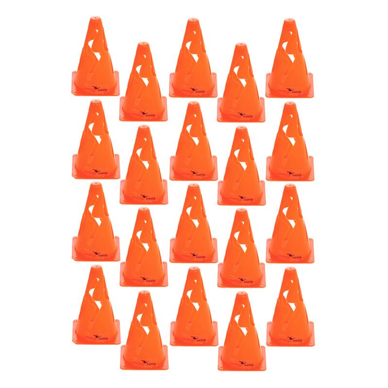Set of 20 Precision Giant Saucer Cone Training Gym Drills