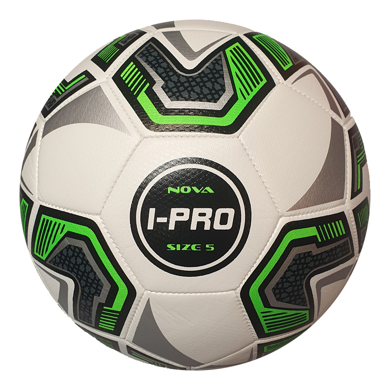 iPro Nova High Performance Laminate Training Football (3, 4 & 5) (White)