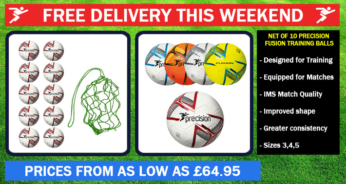 Net of 10 Fusion Balls - Free Delivery